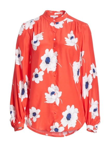 e05f294aab564 EQUIPMENT Cornelia floral silk shirt at Ede   Ravenscroft